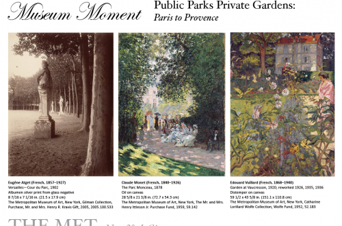 the met paris to provence gardens museum moment Museum Moment: Public Parks, Private Gardens: Paris to Provence Exhibition at The Met EAT LOVE SAVOR International luxury lifestyle magazine and bookazines
