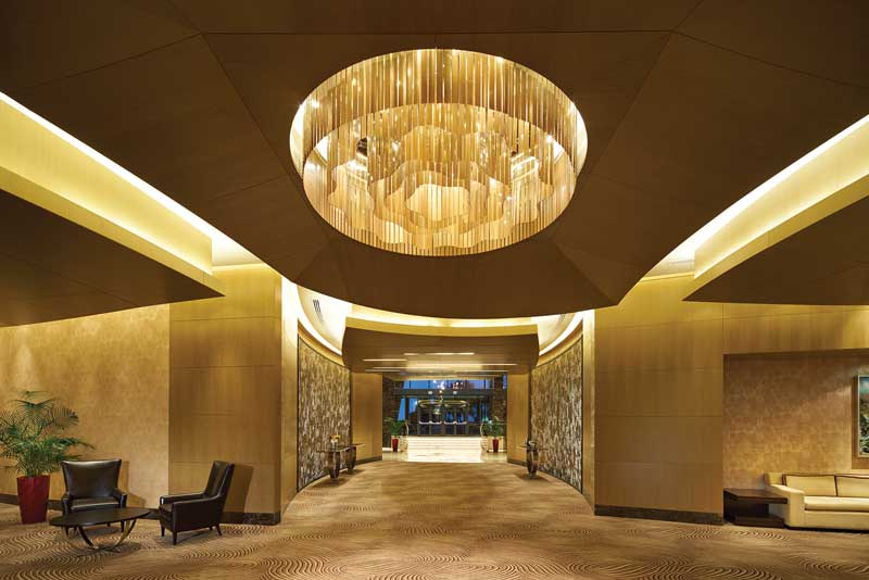 085 lobby fairmont An Homage to Culture With A Cinematic Flow: The Baku Flame Towers In Azerbaijan EAT LOVE SAVOR International luxury lifestyle magazine and bookazines