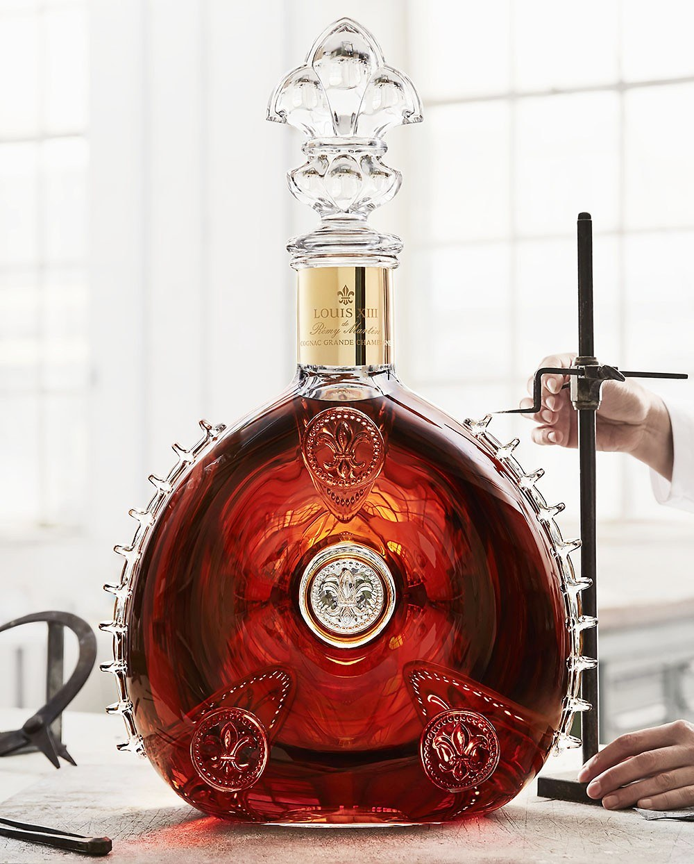 Louis Xiii Le Salmanazar Presents The One And Only 9 Liter Decanter Eat Love Savor
