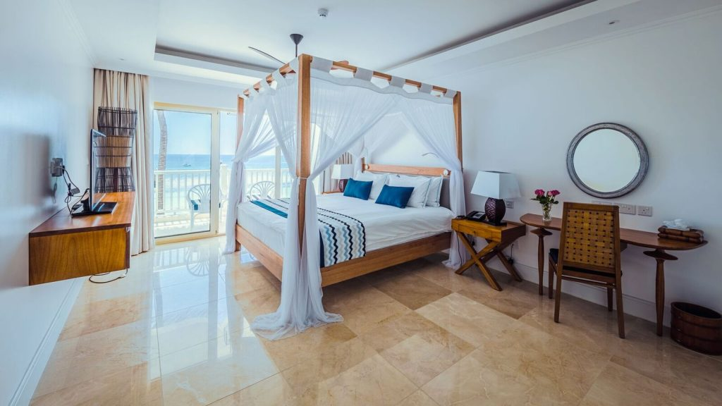Hemingways Watamu Deluxe Ocean View Double Room preview Escape: Latest Luxury Hotel Openings: Joining Small Luxury Hotels of the World EAT LOVE SAVOR International luxury lifestyle magazine and bookazines