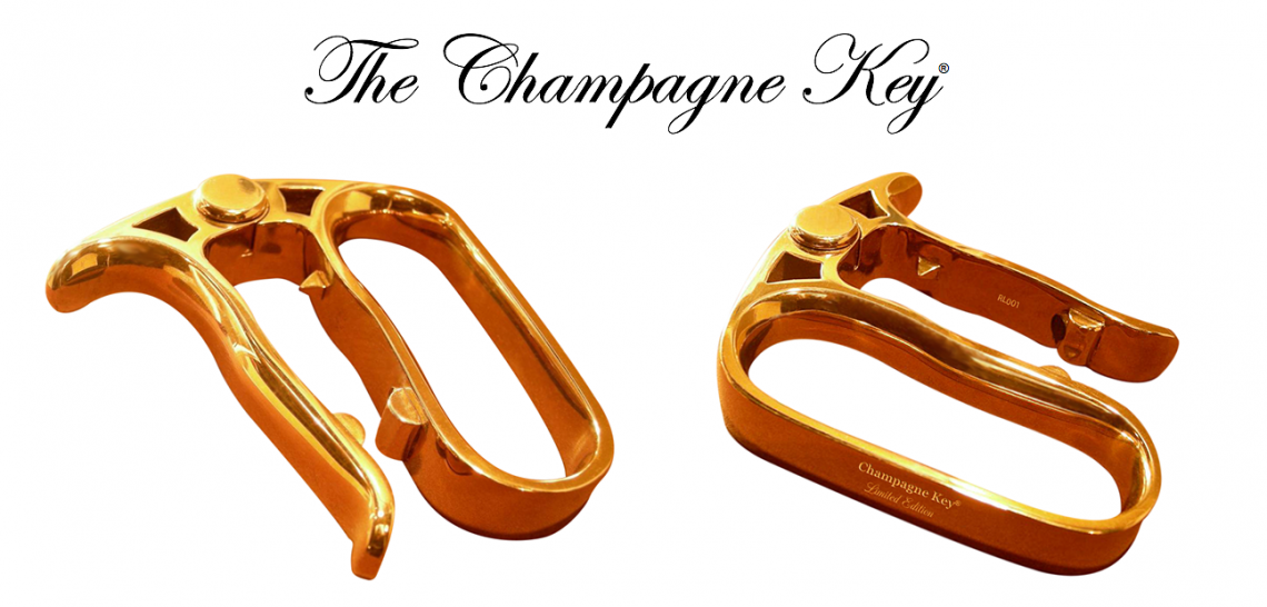 champagne keys Functional Luxury:  Discover The Champagne Key - EAT LOVE SAVOR International luxury lifestyle magazine and bookazines
