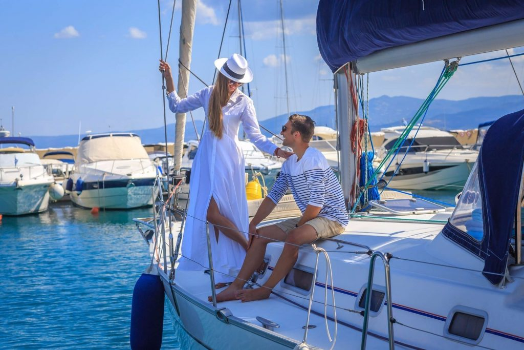 miraggio spa yachting Beach Marina Couple 24 of 31  result Wellness for Yacht Owners: Moor at Miraggio Thermal Spa Resort EAT LOVE SAVOR International luxury lifestyle magazine and bookazines