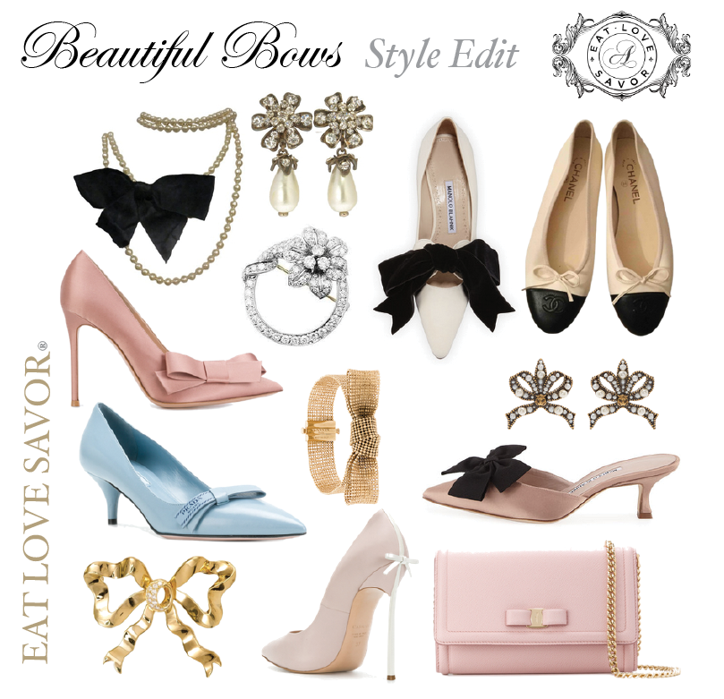 Style Edit : Timeless Beautiful Luxurious Bows