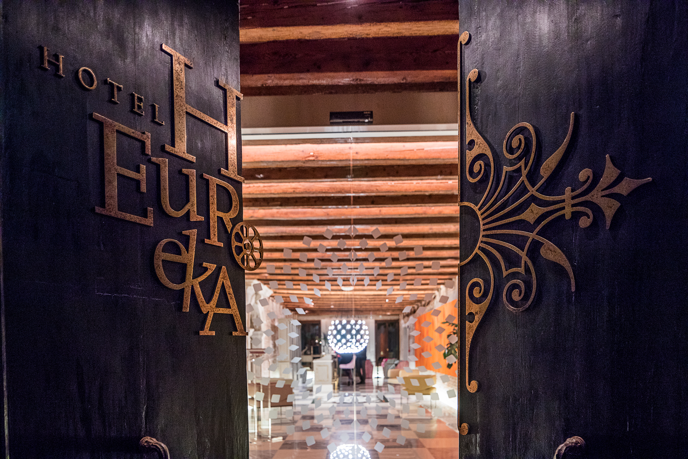 Hotel Entrance Hotel Heureka invites you to discover their Little Black Book of Secrets - EAT LOVE SAVOR International luxury lifestyle magazine and bookazines