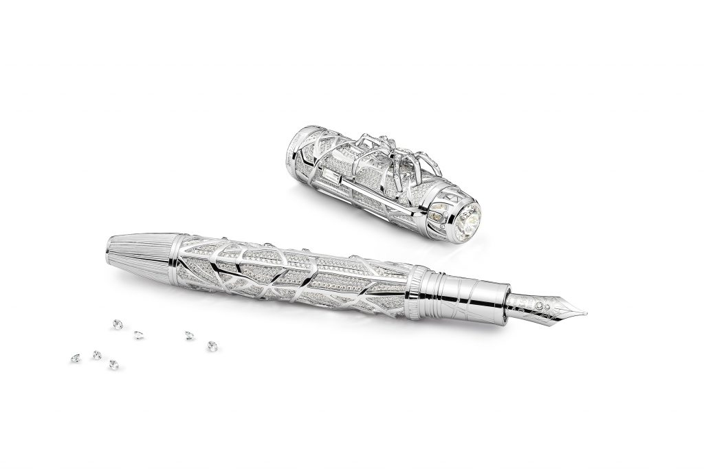 MB Spider LE1 2 A Luxury Duality:  Montblanc High Artistry Heritage Metamorphosis Limited Editions EAT LOVE SAVOR International luxury lifestyle magazine and bookazines
