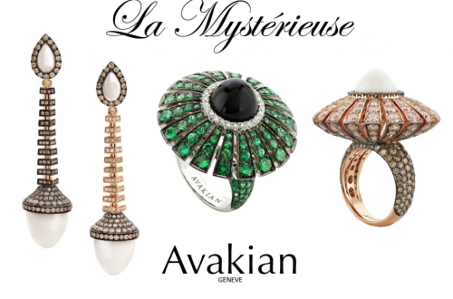Avakian jewelry Beauty and Movement of Jewelry Collection 'La Mystérieuse' by Swiss Jewellery House of Avakian - EAT LOVE SAVOR International luxury lifestyle magazine and bookazines