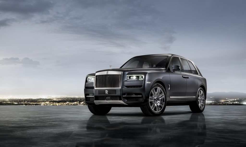 Introducing the Rolls-Royce Cullinan SUV