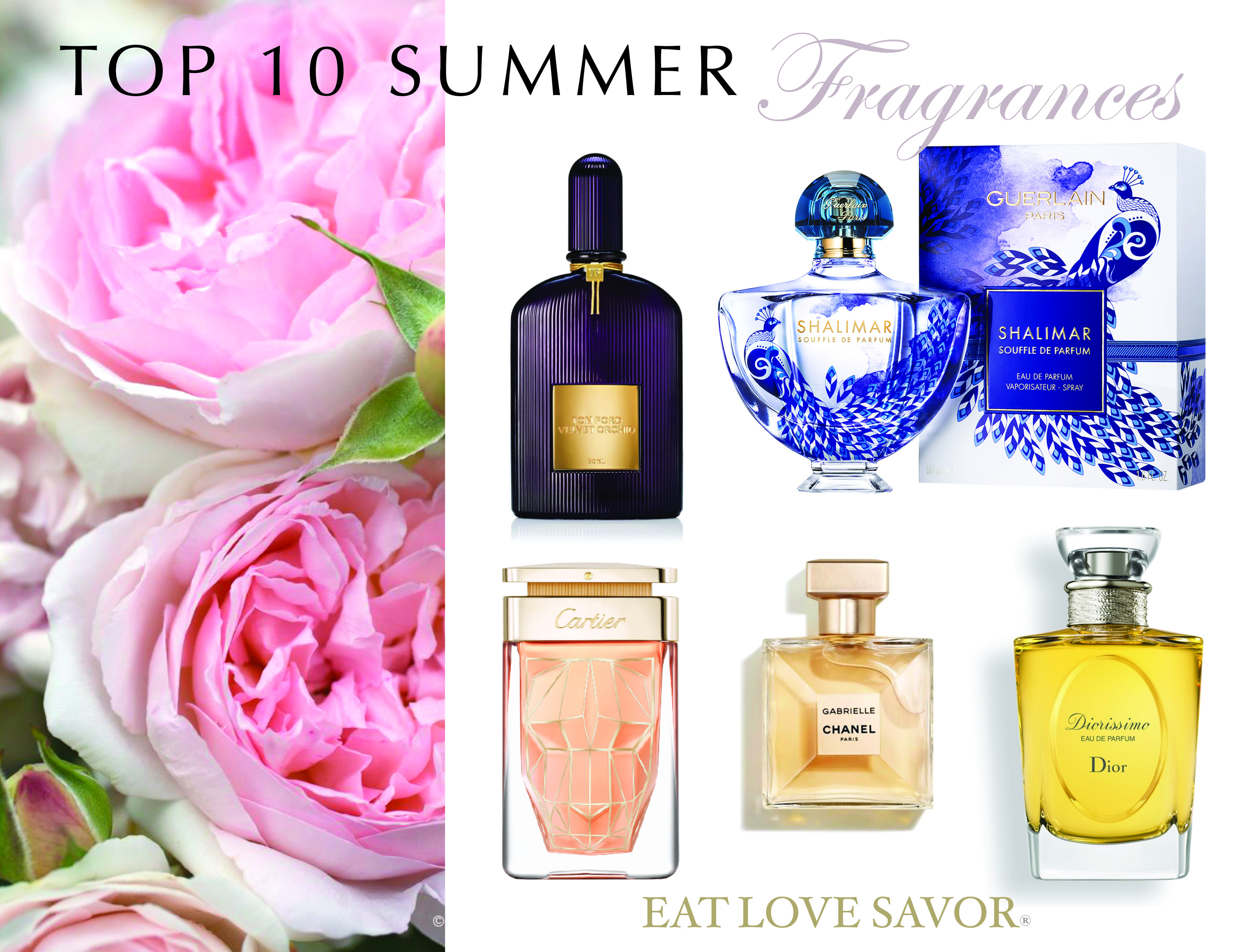 Top 10 Summer Fragrances For Women Eat Love Savor