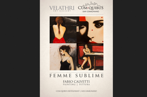 femme sublime cum quibus at exhibition Velathri Art Gallery and Cum Quibus Restaurant combine culinary and contemporary art EAT LOVE SAVOR International luxury lifestyle magazine and bookazines