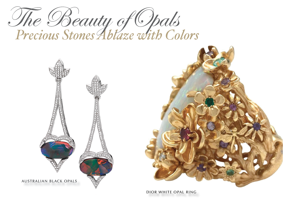 Gemstone Edit: Opals: Precious Stones Ablaze with Color