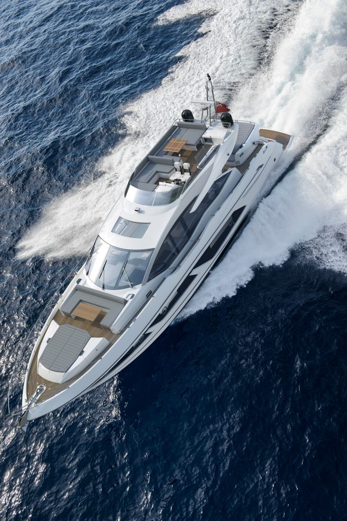 Sunseeker Line Up for the Cannes Yachting Festival 2018