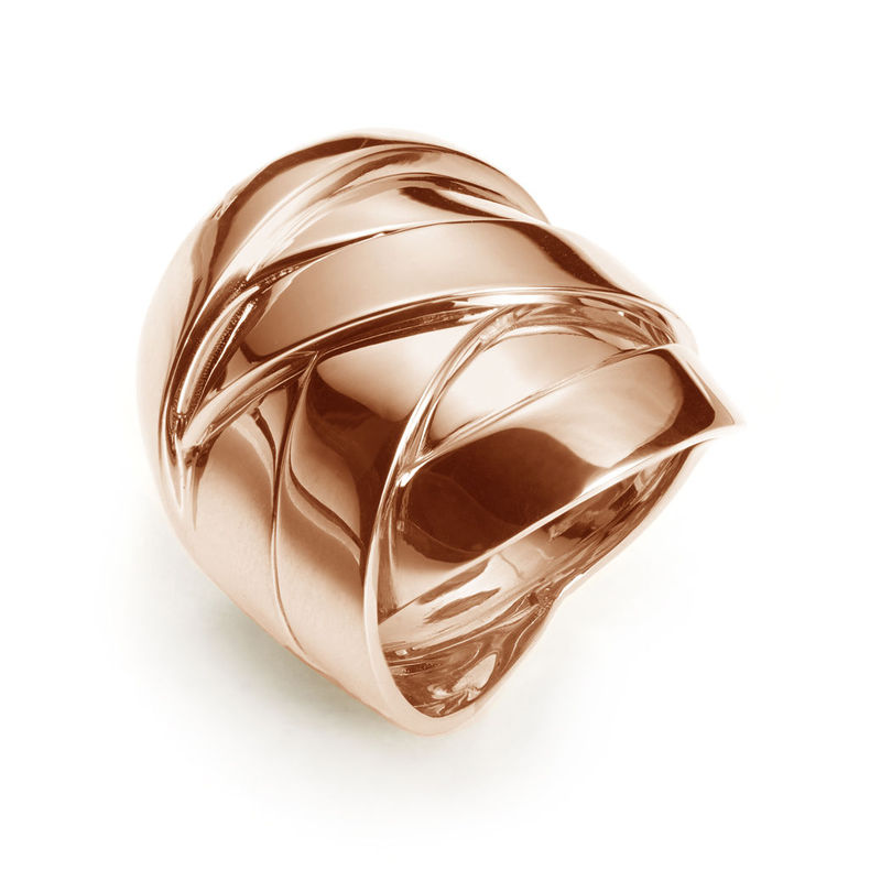 Weft and Woven Mattioli Timeless Contemporary Rings Made in Italy