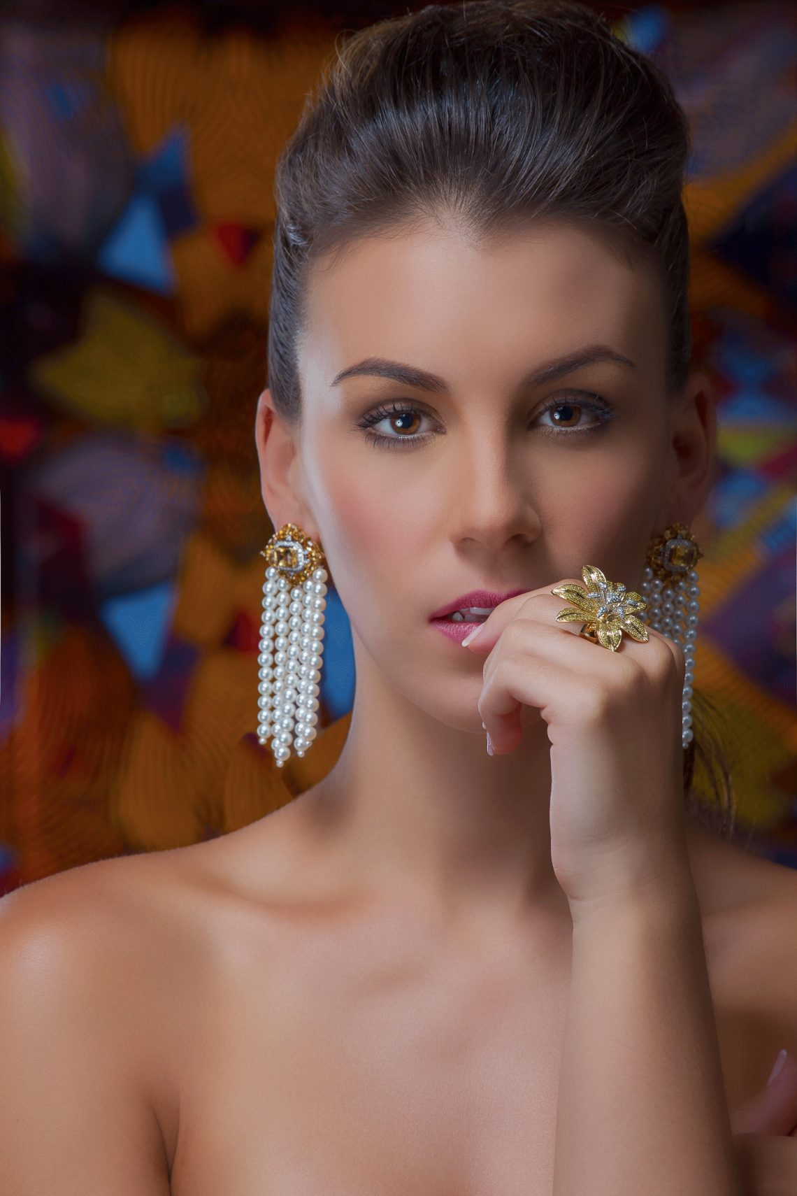 Boubou earrings Satta Matturi Fine Jewellery Beautiful Things:  Satta Matturi Fine Jewellery - EAT LOVE SAVOR International luxury lifestyle magazine and bookazines