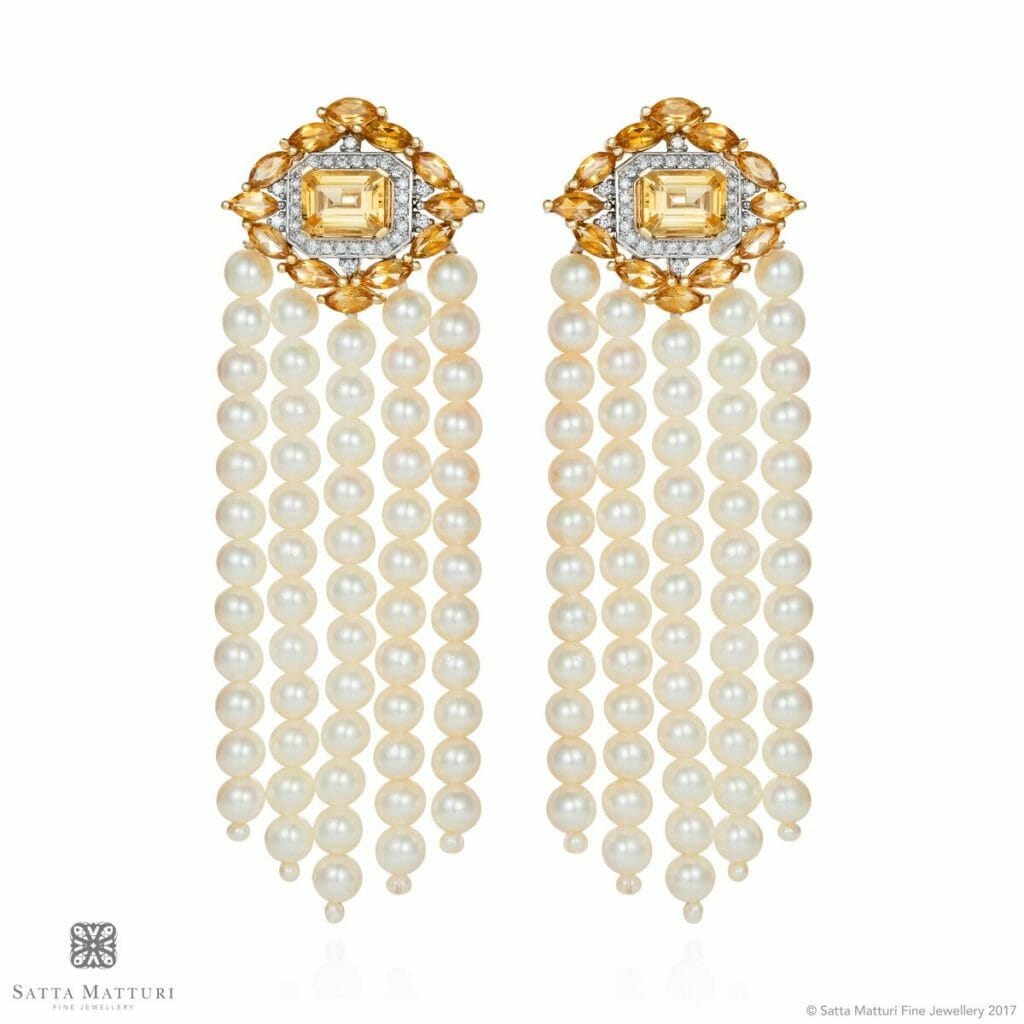 Bouboue earrings pair Beautiful Things:  Satta Matturi Fine Jewellery - EAT LOVE SAVOR International luxury lifestyle magazine and bookazines