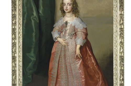 Portrait of Princess Mary CHRISTIES AUCTION painting AUCTION: A Masterpiece by Sir Anthony Van Dyck: Portrait of Princess Mary, daughter of King Charles I of England - EAT LOVE SAVOR International luxury lifestyle magazine and bookazines