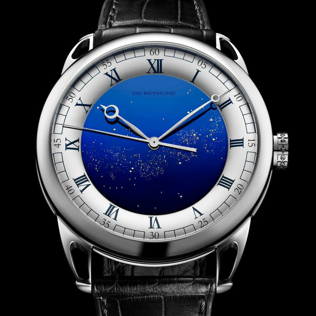v2 gphg2018 debethune db25starryvariustourbillon 01 GPHG Watch Awards Pre-selection 2018 and Edit EAT LOVE SAVOR International luxury lifestyle magazine and bookazines