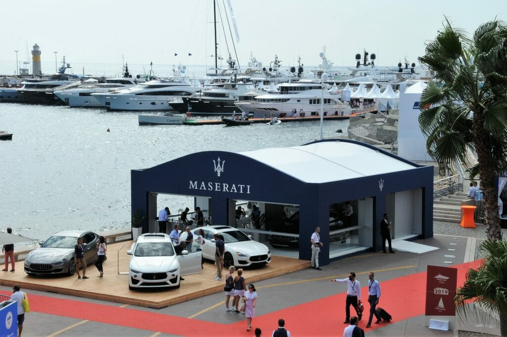 Cannes Yacht Show highlights Maserati Cap Villas