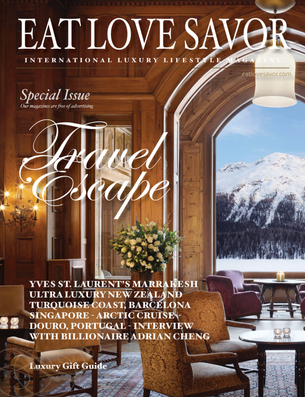 eat love savor international luxury lifestyle magazine and bookazine