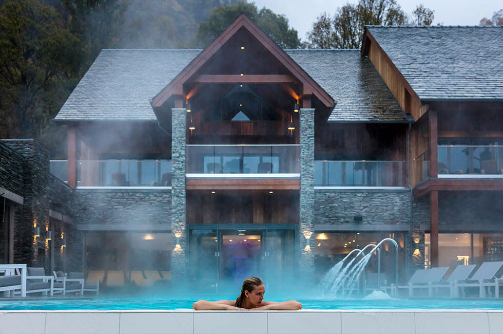 lodore falls hotel infinity spa 5 Great Spa Breaks for Wellness and Relaxation - EAT LOVE SAVOR International luxury lifestyle magazine and bookazines