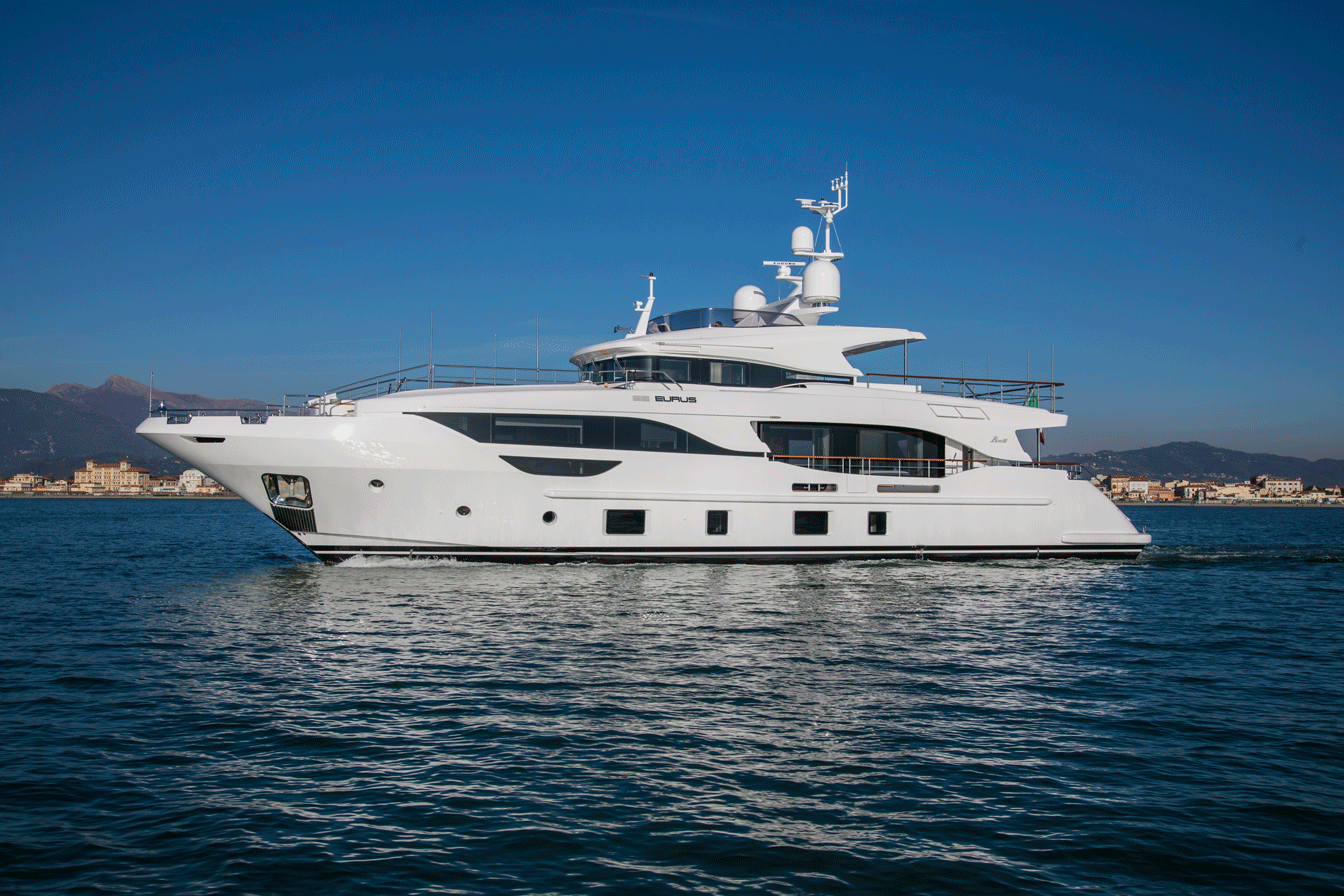 "BENETTI DELFINO M/Y ""EURUS - EAT LOVE SAVOR LUXURY LIFESTYLE MAGAZINE"