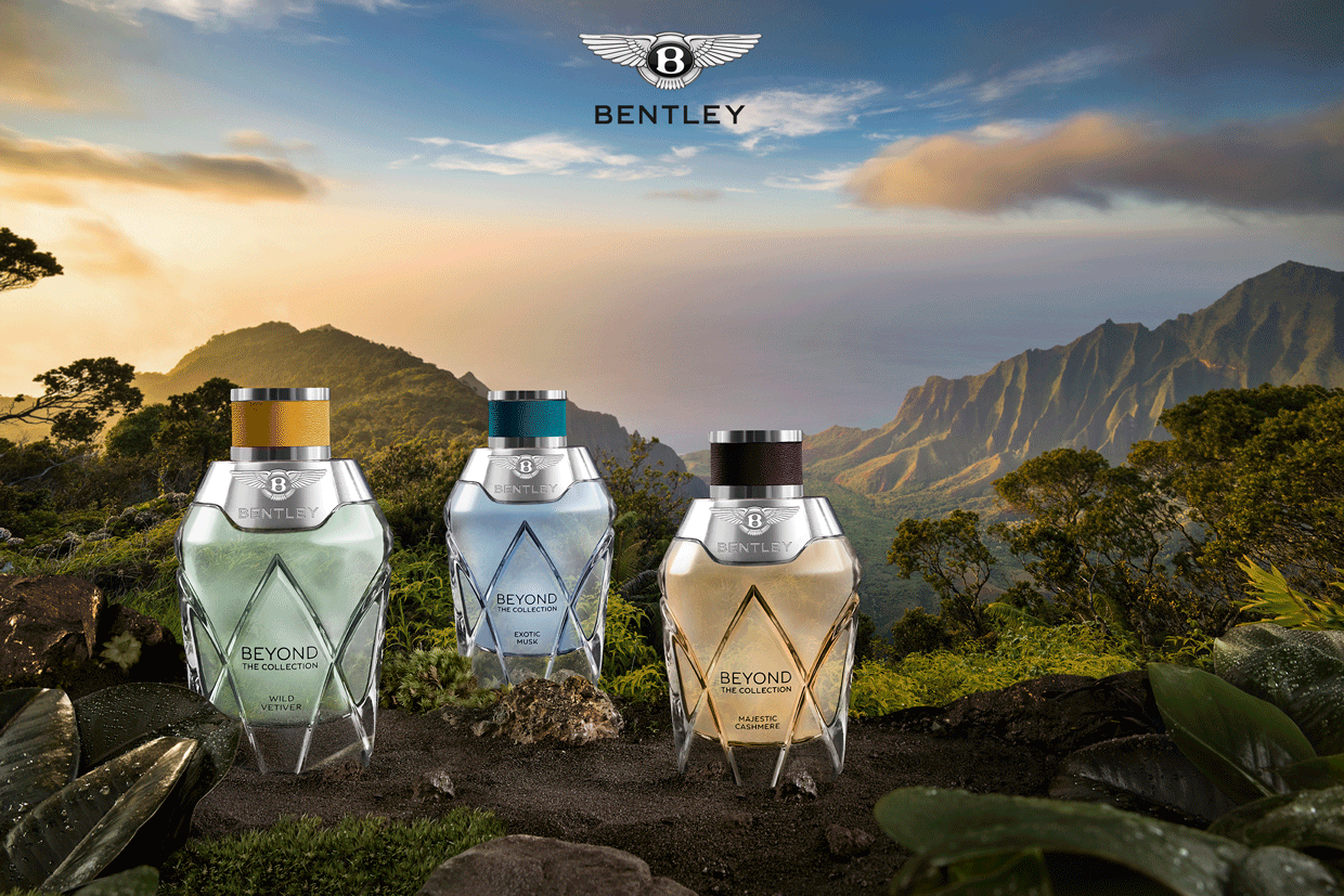 BENTLEY BEYOND – Discover the Collection, a New World of Scent