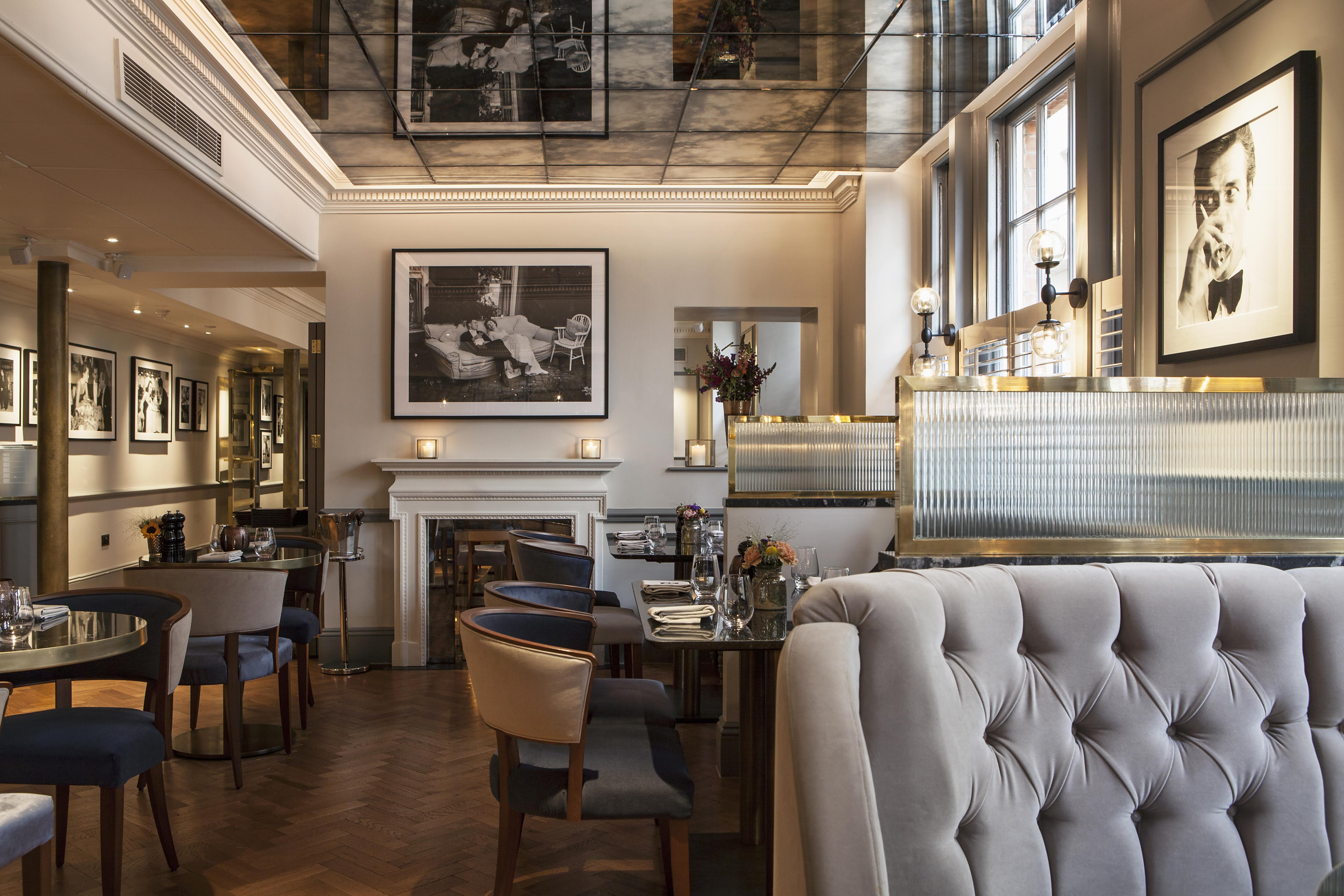 Dukes london dining room DUKES LONDON raises a glass to the late Karl Lagerfeld - EAT LOVE SAVOR International luxury lifestyle magazine and bookazines