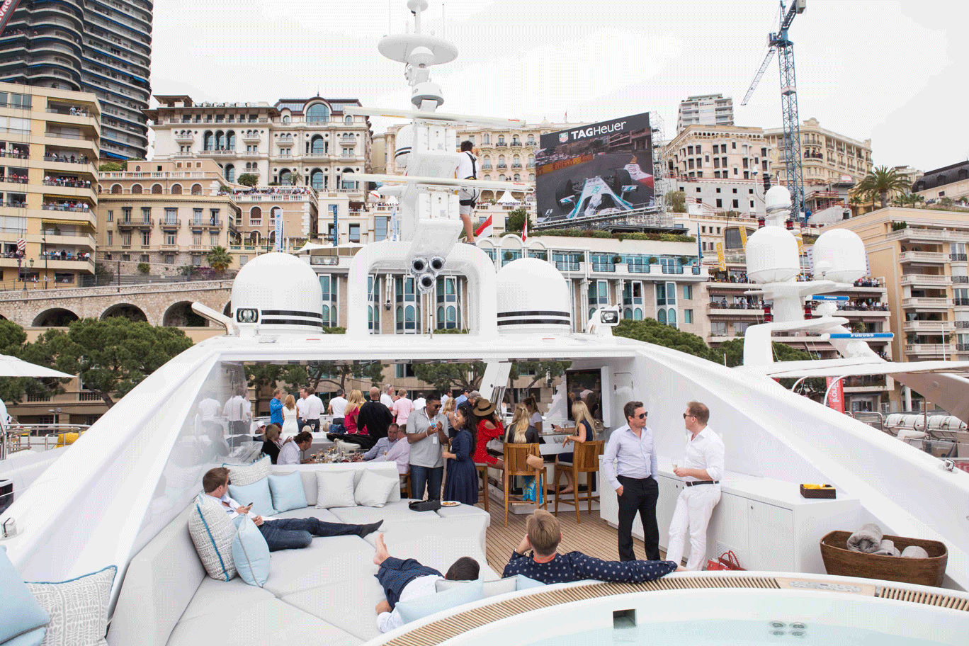 My Yacht® Group's Trackside Superyacht At The 77th Monaco Grand Prix