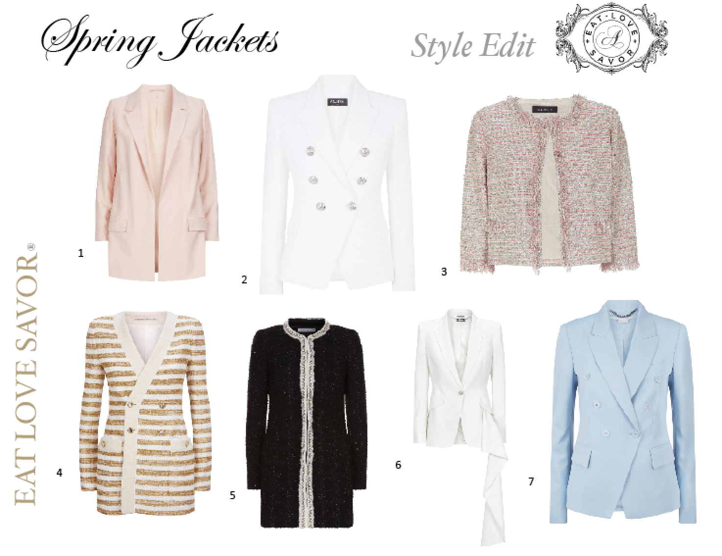 Style Edit – Out of Winter and into Spring Jackets