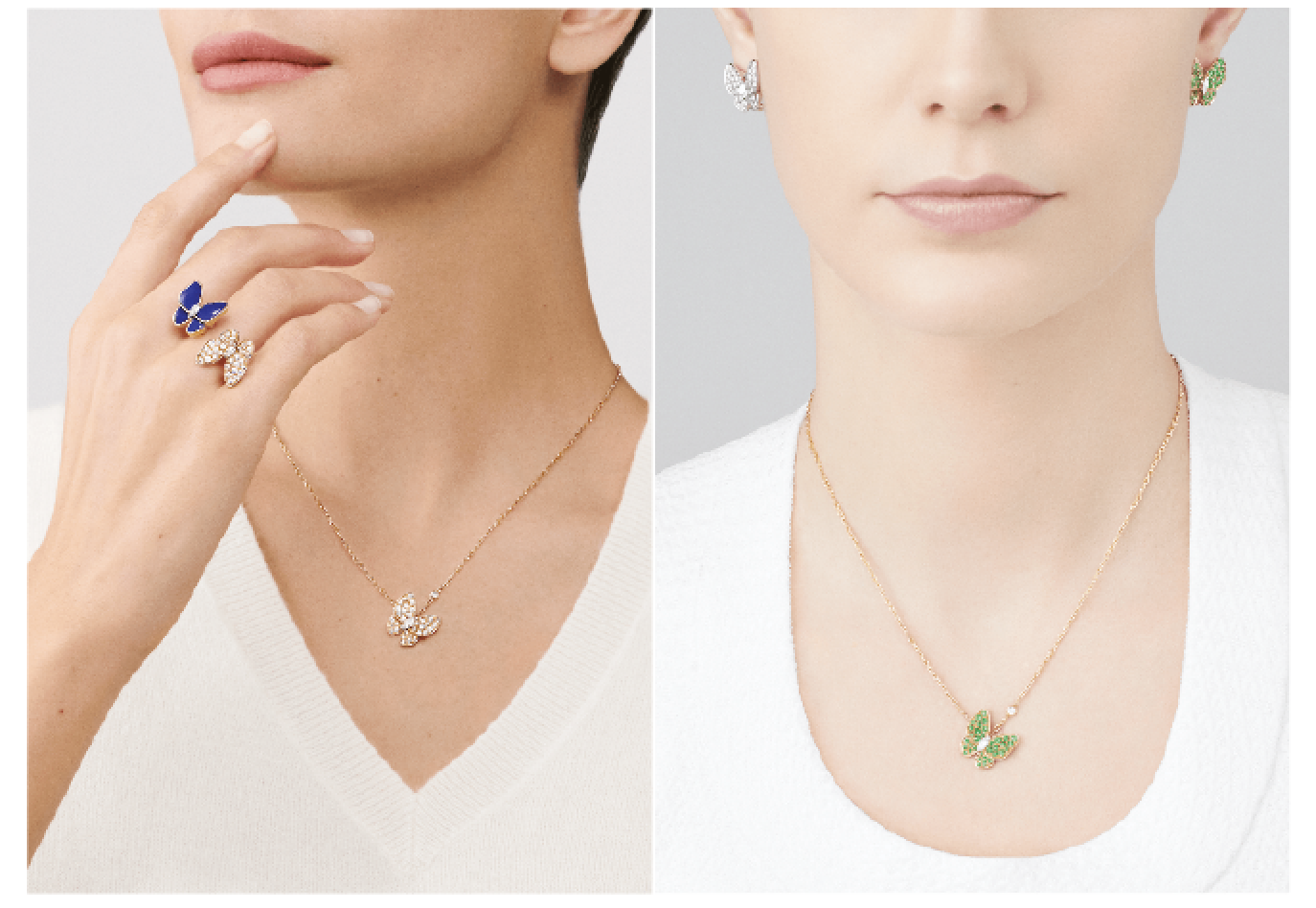 Beautiful Things: Van Cleef & Arpels Fine Jewelry Two Butterfly Collection