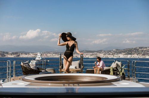 Aboard luxury superyacht SOLO by Tankoa Yachts
