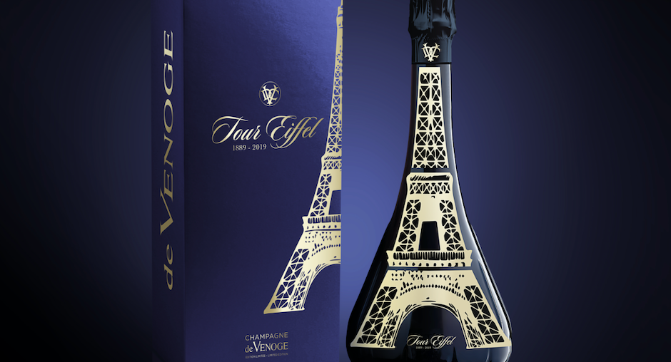 Celebrating 130 Years of The Eiffel Tower with Champagne de Venoge Special Cuvee