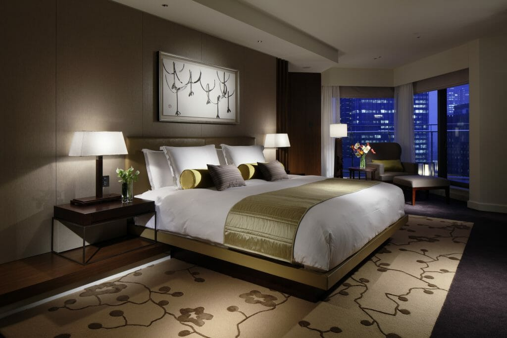Palace Hotel Tokyo Terrace Suite Bedroom Chef Alain Ducasse To Debut New Restaurant at Palace Hotel Tokyo - EAT LOVE SAVOR International luxury lifestyle magazine and bookazines