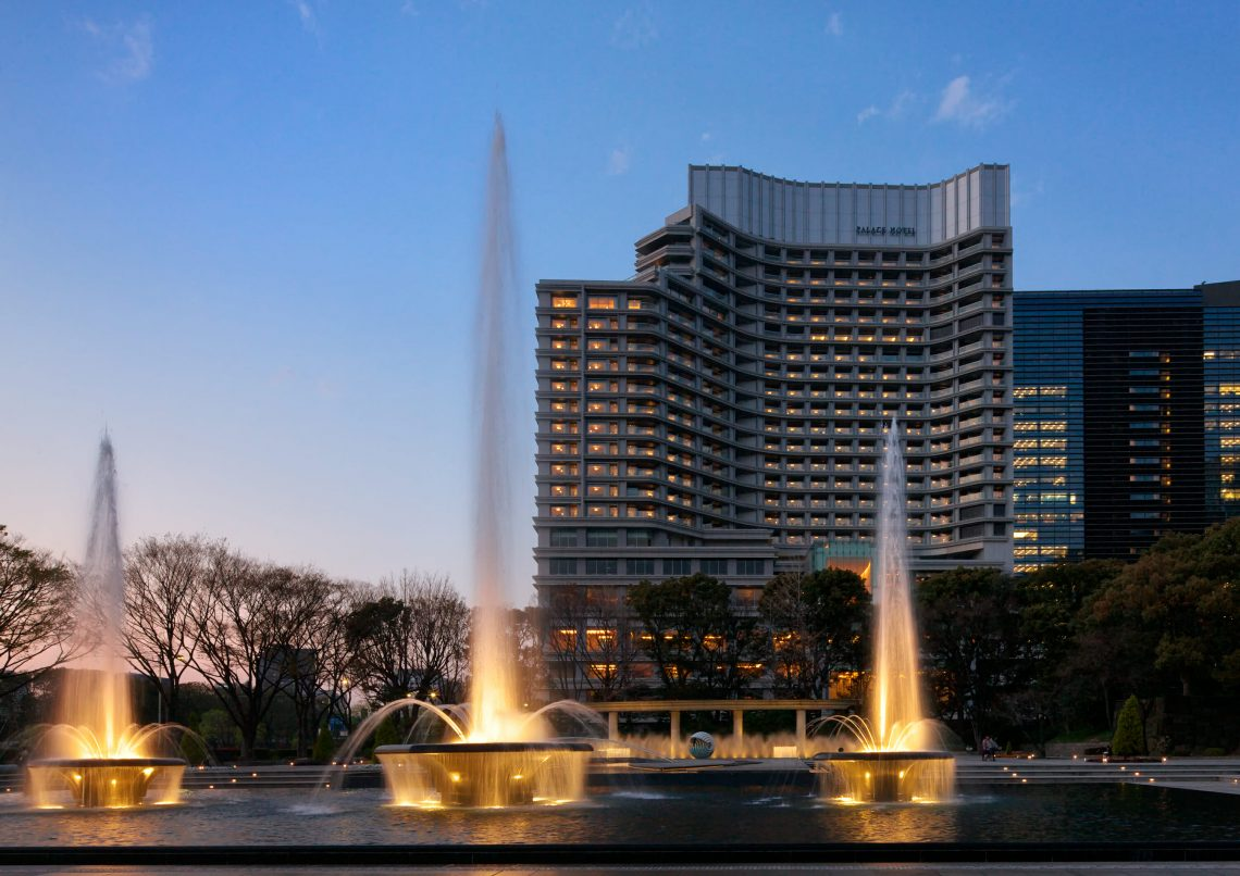 Palace Hotel Tokyo Wadakura Fountain Park at Night Chef Alain Ducasse To Debut New Restaurant at Palace Hotel Tokyo - EAT LOVE SAVOR International luxury lifestyle magazine and bookazines