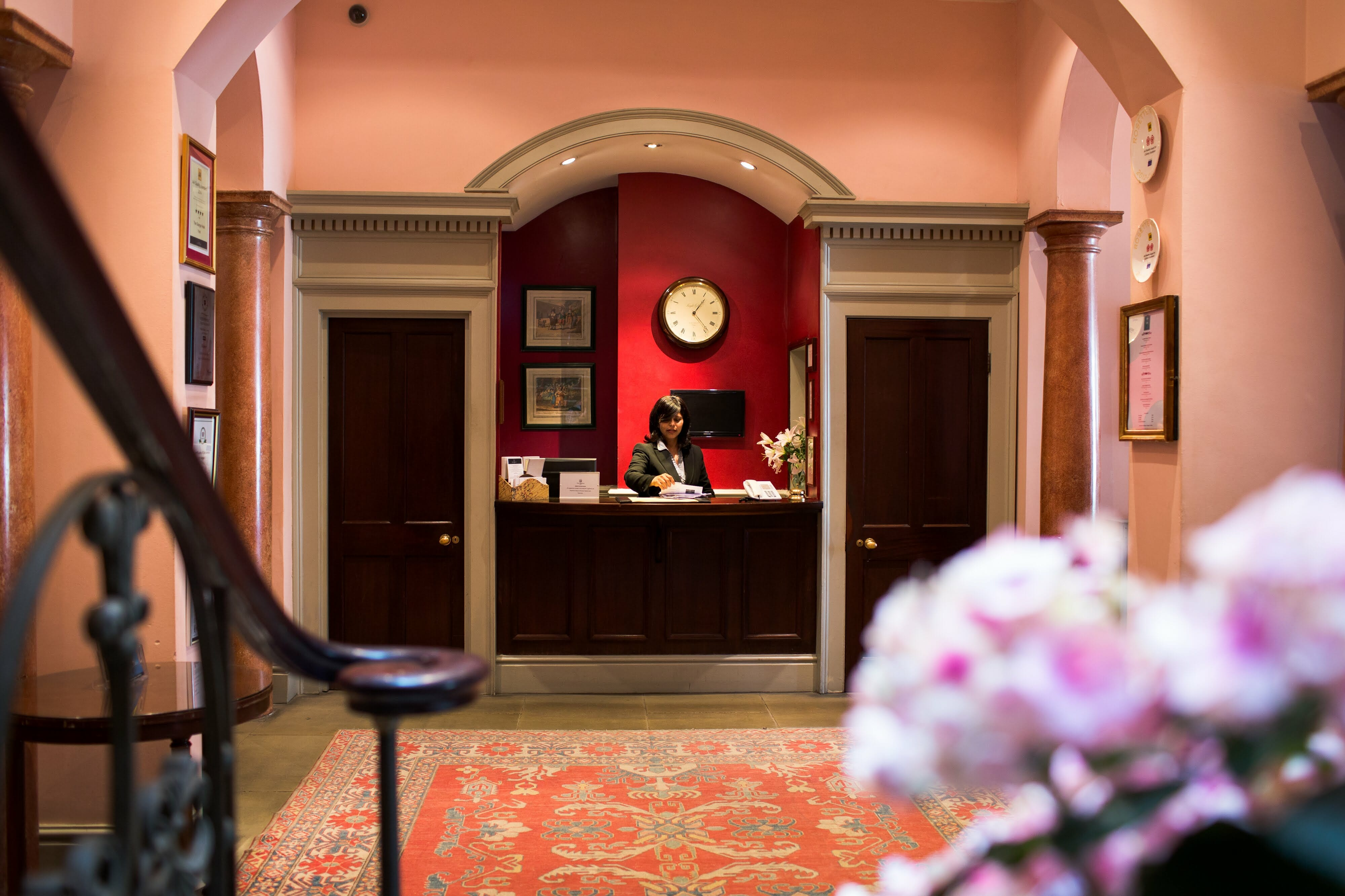 Public Areas Reception Escape to The Grange Hotel for an Intimate Country House Setting in York EAT LOVE SAVOR International luxury lifestyle magazine and bookazines