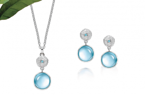 blue topaz mavros Beautiful Things: Get Swept Away with the Patrick Mavros 'Ocean Tides Collection' - EAT LOVE SAVOR International luxury lifestyle magazine and bookazines