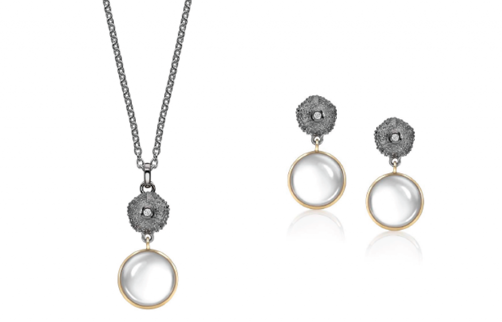 milky quartz oxidised mavros Beautiful Things: Get Swept Away with the Patrick Mavros 'Ocean Tides Collection' - EAT LOVE SAVOR International luxury lifestyle magazine and bookazines