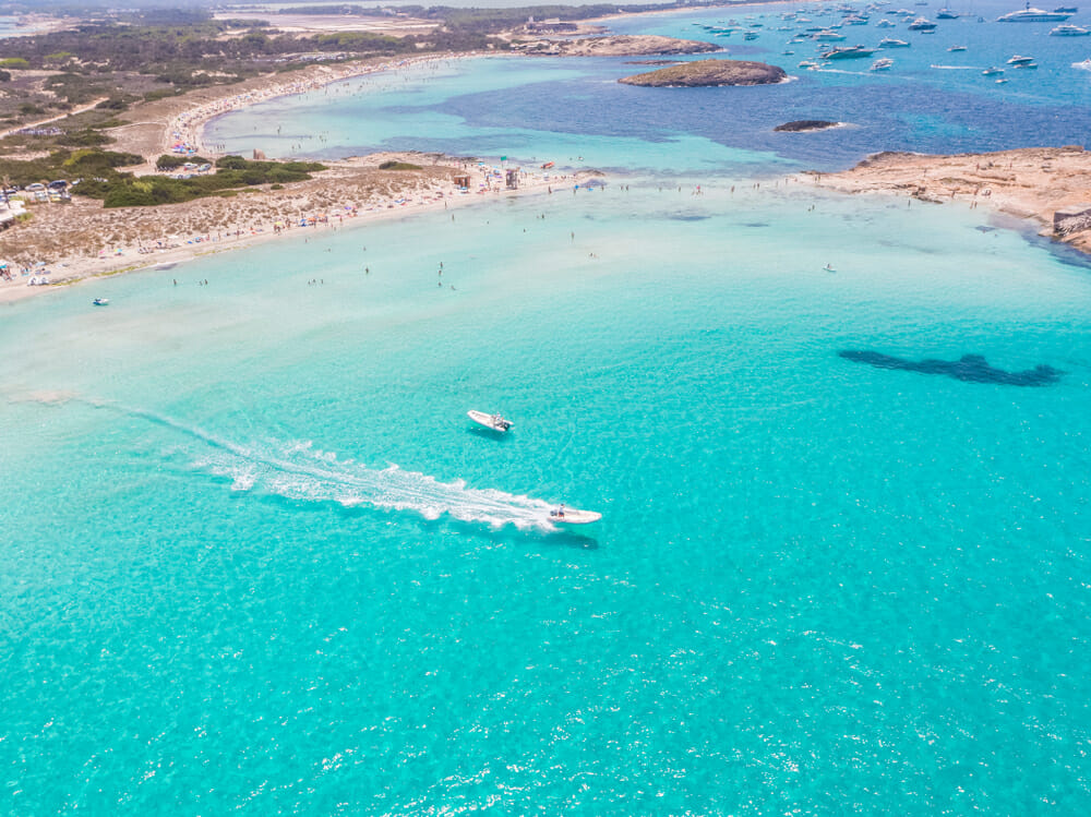 sailing in the Balearics Formentera Discovering Europe's best beaches: summer sailing in the Balearics - EAT LOVE SAVOR International luxury lifestyle magazine and bookazines