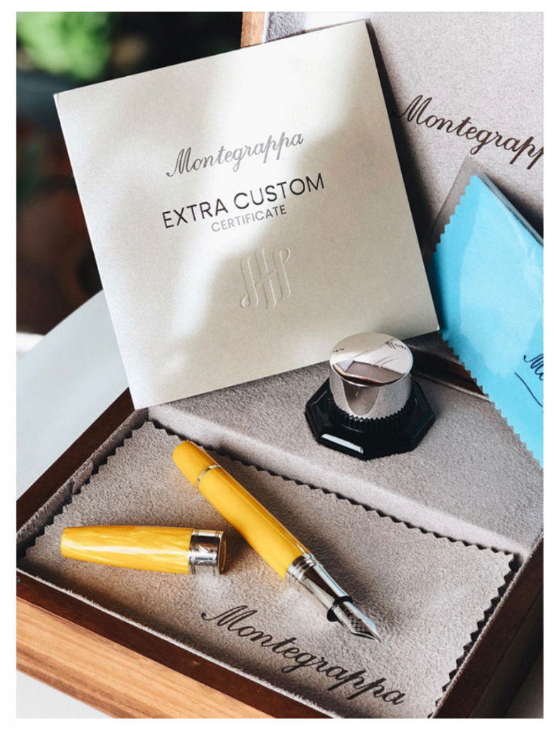 montegrappa custom made pen Montegrappa Introduces The World's First Luxury Pen Configurator - EAT LOVE SAVOR International luxury lifestyle magazine and bookazines
