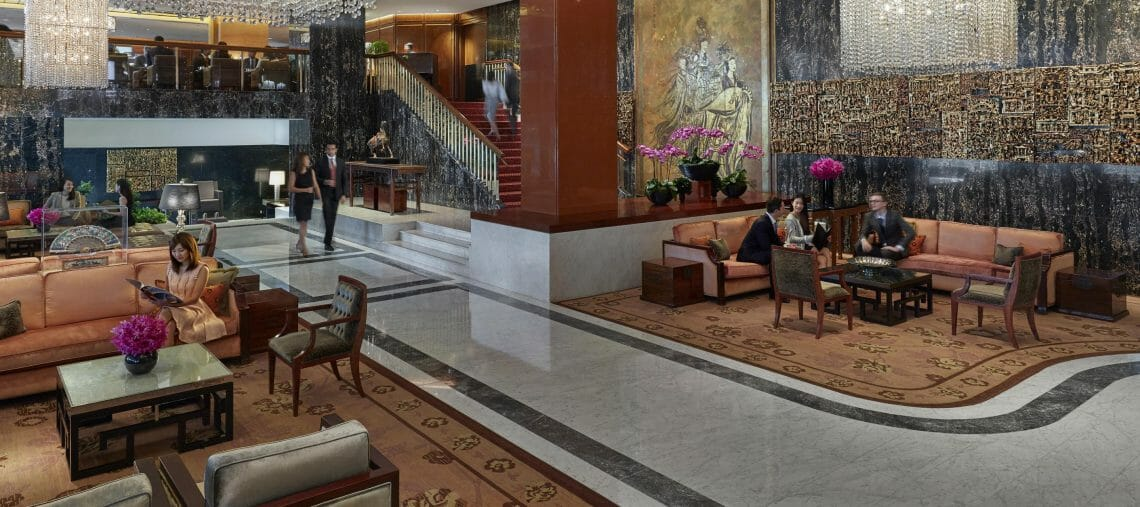 mandarin oriental hotel hong kong 18 hotel lobby 01 LTI Releases World's Best Hotel Brands List 2019 EAT LOVE SAVOR International luxury lifestyle magazine and bookazines