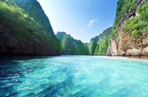 Phi Phi Island Photo © Thailand Yacht Show Superyacht Vacations to Remember: Travelling Thailand in Luxury - EAT LOVE SAVOR International luxury lifestyle magazine and bookazines