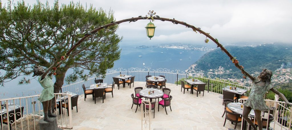 BEST RESTAUTANTS IN CAP FERRAT COURTESY LA CHEVRE D OR Tantalise your tastebuds and explore the best restaurants in Cap Ferrat - EAT LOVE SAVOR International luxury lifestyle magazine and bookazines