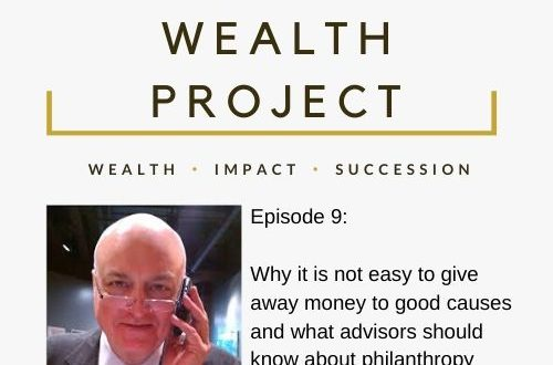 Copy of Episode 9 Card The True Wealth Project Podcast Presents: How to Increase and Improve Philanthropy with John Pepin - EAT LOVE SAVOR International luxury lifestyle magazine and bookazines