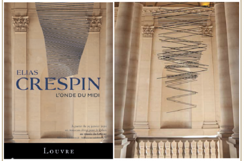 elias crespin louvre duo Museum Moment: Elias Crespin, L'Onde du Midi at the Louvre Paris - EAT LOVE SAVOR International luxury lifestyle magazine and bookazines
