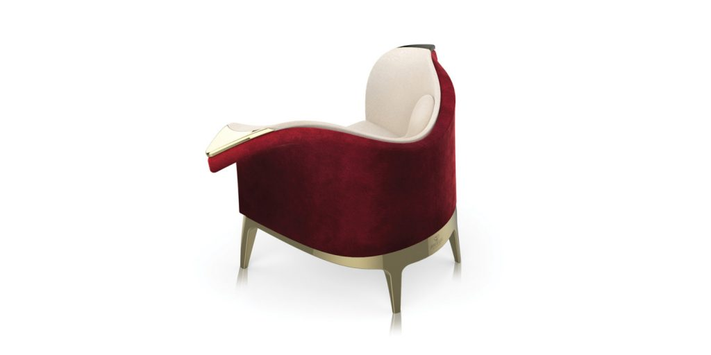 harlequin armchair 2 alma de luce Beautiful Things: Harlequin Armchair by Alma de Luce - EAT LOVE SAVOR International luxury lifestyle magazine and bookazines