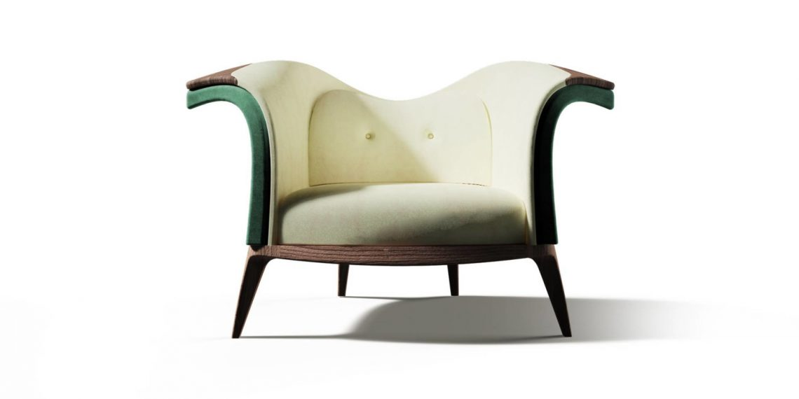 harlequin armchair alma de luce Beautiful Things: Harlequin Armchair by Alma de Luce - EAT LOVE SAVOR International luxury lifestyle magazine and bookazines