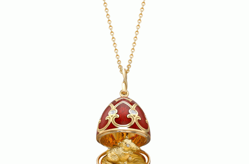 Faberge Palais Tsarskoye Selo Red Rat Surprise Locket Fabergé Welcomes Chinese New Year with Rat Pendant Palais Tsarskoye Selo Red Locket - EAT LOVE SAVOR International luxury lifestyle magazine and bookazines