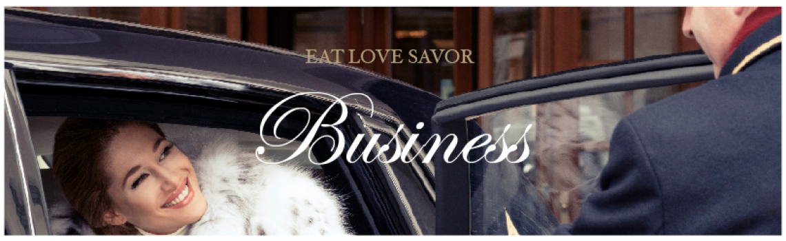 business Business Subscription to EAT LOVE SAVOR - EAT LOVE SAVOR International luxury lifestyle magazine and bookazines