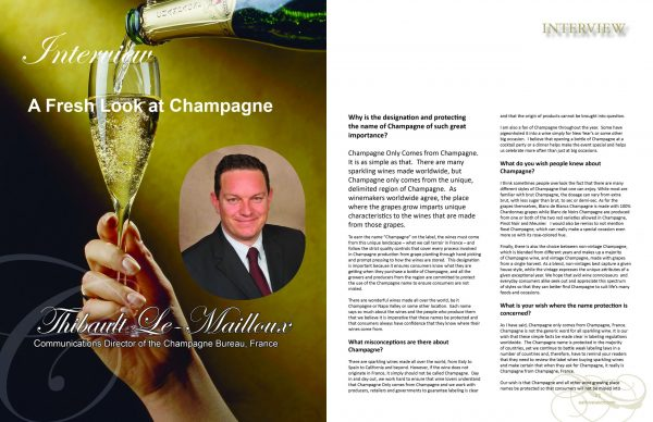 2 page spread ELS Special Issue CHAMPAGNE 2017 scaled Edition #1 - Champagne - EAT LOVE SAVOR International luxury lifestyle magazine and bookazines