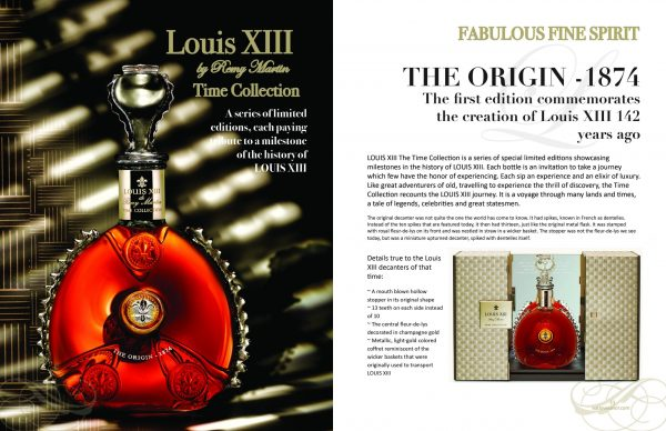 2 page spread louis xiii Delectable issue scaled Edition #5 - Travel & Escape - EAT LOVE SAVOR International luxury lifestyle magazine and bookazines