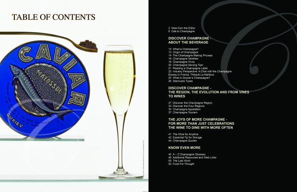 Index ELS Special Issue CHAMPAGNE 2017 scaled Edition #1 - Champagne - EAT LOVE SAVOR International luxury lifestyle magazine and bookazines